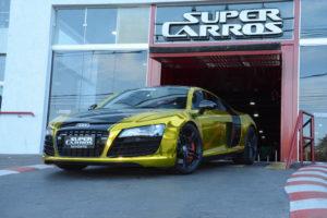 Audi R8, Super Carros