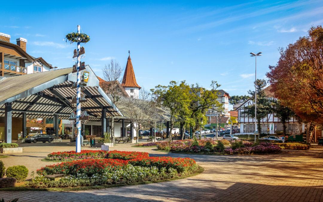 A varejista e escultural Nova Petrópolis