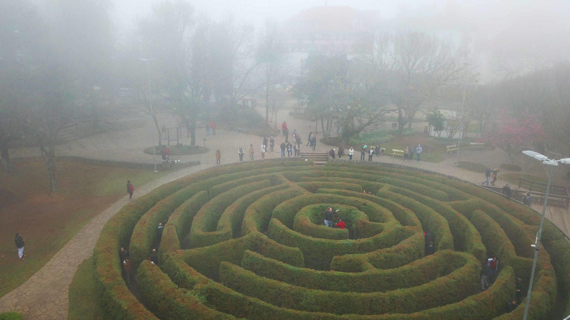 Labirinto Verde de Nova Petrópolis - Luciano Palumbo TurismoETC