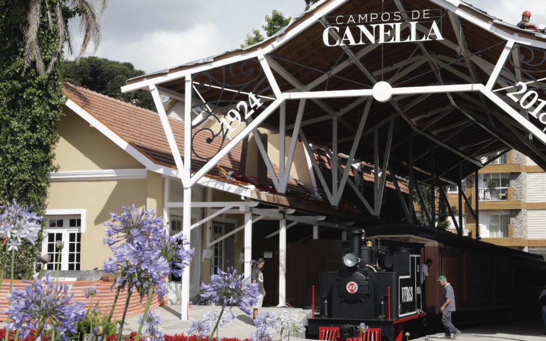 Conheça a Estação Campos de Canella
