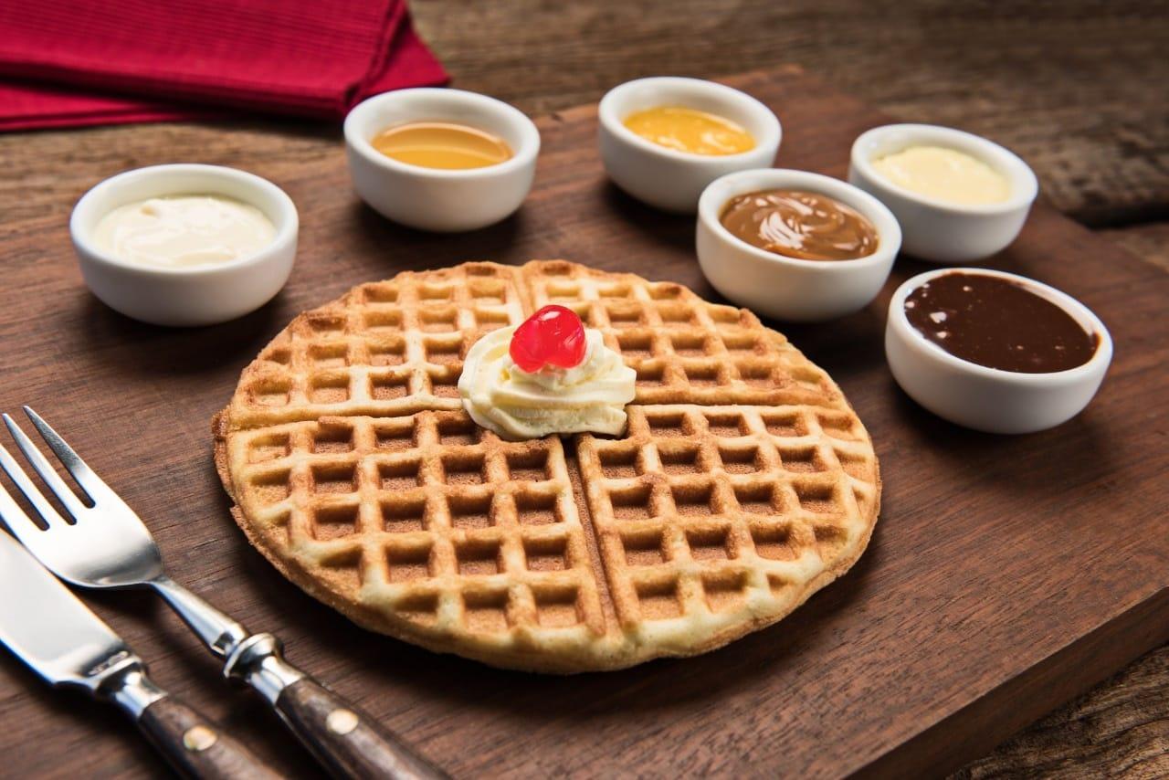 O famoso Waffle da Casa da Velha Bruxa - Divulgação